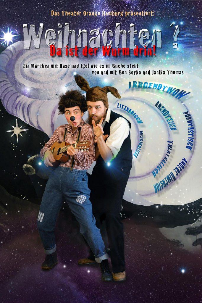 Das Theaterorange Hamburg präsentiert: Weihnachten da ist der Wurm drin