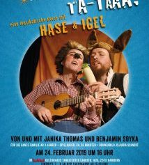 """""""ta-TAAA"""" – Eine musikalische Reise mit Hase & Igel"""
